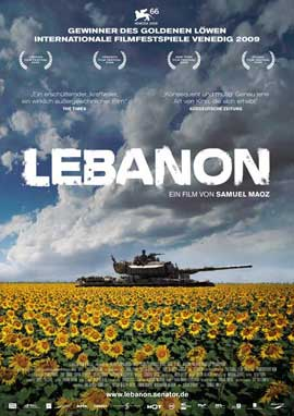 Lebanon - 11 x 17 Movie Poster - German Style A
