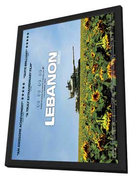 Lebanon - 11 x 17 Movie Poster - UK Style A - in Deluxe Wood Frame