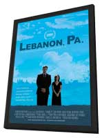 Lebanon, Pa. - 11 x 17 Movie Poster - Style A - in Deluxe Wood Frame