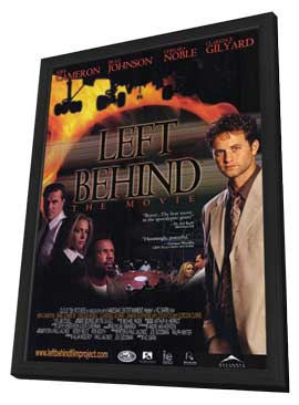 Left Behind: The Movie - 11 x 17 Movie Poster - Style A - in Deluxe Wood Frame