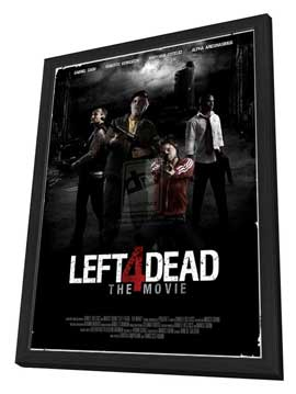Left for Dead - 11 x 17 Movie Poster - Style C - in Deluxe Wood Frame