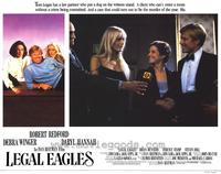 Legal Eagles - 11 x 14 Movie Poster - Style D