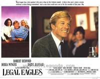 Legal Eagles - 11 x 14 Movie Poster - Style E