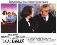 Legal Eagles - 11 x 14 Movie Poster - Style F