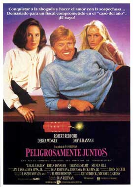 Legal Eagles - 11 x 17 Movie Poster - Spanish Style A
