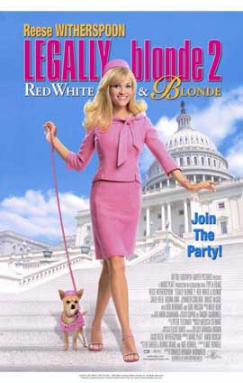 Legally Blonde 2: Red, White & Blonde - 11 x 17 Movie Poster - Style A