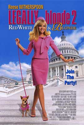 Legally Blonde 2: Red, White & Blonde - 27 x 40 Movie Poster - Style A