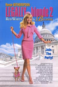 Legally Blonde 2: Red, White & Blonde - 43 x 62 Movie Poster - Bus Shelter Style A
