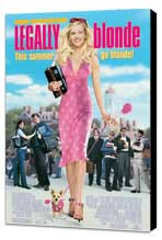 Legally Blonde - 27 x 40 Movie Poster - Style A - Museum Wrapped Canvas