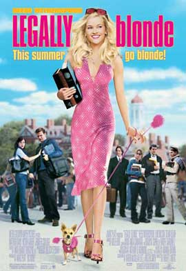 Legally Blonde - 27 x 40 Movie Poster - Style A