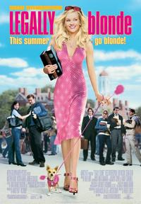 Legally Blonde - 43 x 62 Movie Poster - Bus Shelter Style A