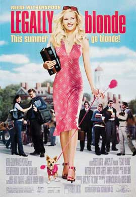 Legally Blonde - 27 x 40 Movie Poster - Style C