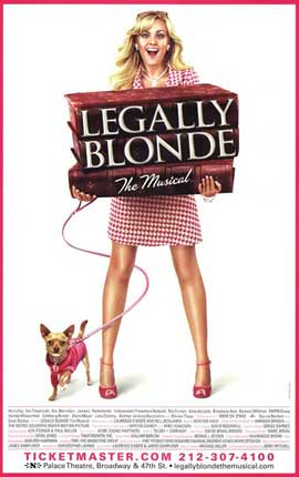 Legally Blonde The Musical (Broadway) - 27 x 40 Poster - Style A