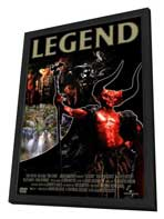 Legend - 27 x 40 Movie Poster - Style D - in Deluxe Wood Frame