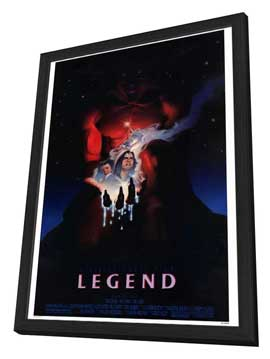Legend - 27 x 40 Movie Poster - Style B - in Deluxe Wood Frame