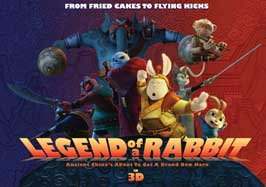 Legend of a Rabbit - 11 x 17 Movie Poster - Style A