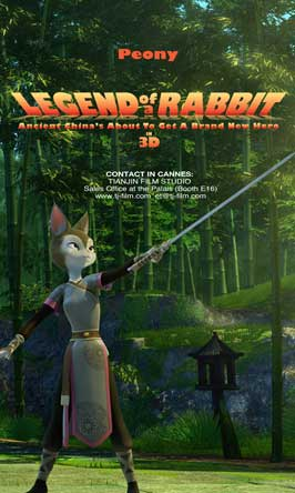 Legend of a Rabbit - 27 x 40 Movie Poster - Style B