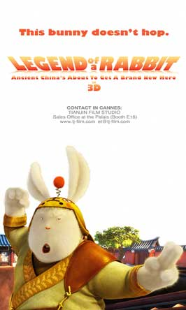 Legend of a Rabbit - 11 x 17 Movie Poster - Style C