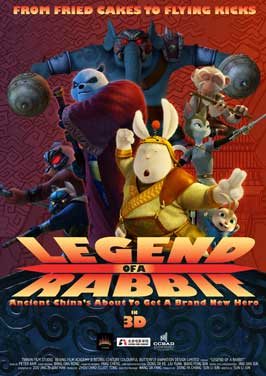 Legend of a Rabbit - 11 x 17 Movie Poster - Style D