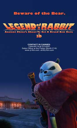 Legend of a Rabbit - 11 x 17 Movie Poster - Style E