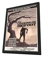 Legend of Bigfoot - 11 x 17 Movie Poster - Style A - in Deluxe Wood Frame