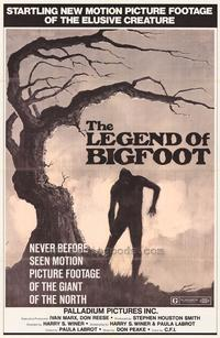 Legend of Bigfoot - 27 x 40 Movie Poster - Style A