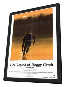 Legend of Boggy Creek - 27 x 40 Movie Poster - Style A - in Deluxe Wood Frame