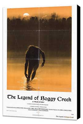 Legend of Boggy Creek - 27 x 40 Movie Poster - Style A - Museum Wrapped Canvas