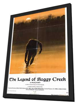 Legend of Boggy Creek - 11 x 17 Movie Poster - Style A - in Deluxe Wood Frame