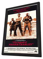 Legend of Nigger Charley - 27 x 40 Movie Poster - Style A - in Deluxe Wood Frame