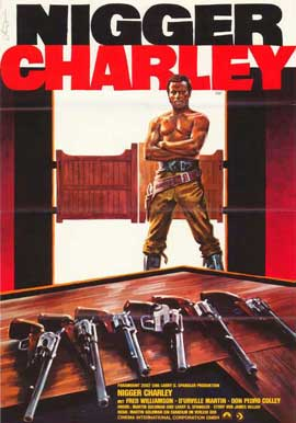 Legend of Nigger Charley - 27 x 40 Movie Poster - German Style A