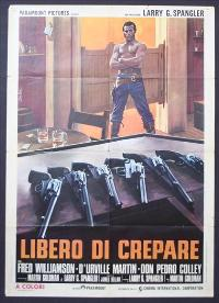 Legend of Nigger Charley - 11 x 17 Movie Poster - Italian Style A