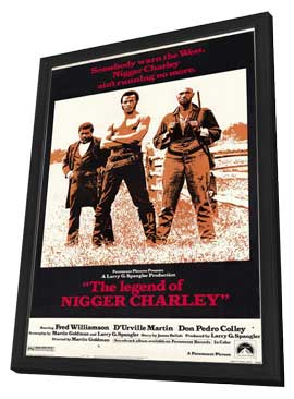 Legend of Nigger Charley - 11 x 17 Movie Poster - Style A - in Deluxe Wood Frame