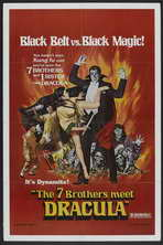 Legend of the 7 Golden Vampires - 11 x 17 Movie Poster - Style B