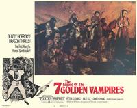 Legend of the 7 Golden Vampires - 11 x 14 Movie Poster - Style A