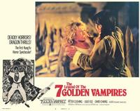 Legend of the 7 Golden Vampires - 11 x 14 Movie Poster - Style B