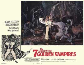 Legend of the 7 Golden Vampires - 11 x 14 Movie Poster - Style C