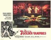 Legend of the 7 Golden Vampires - 11 x 14 Movie Poster - Style E