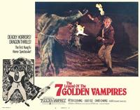 Legend of the 7 Golden Vampires - 11 x 14 Movie Poster - Style F