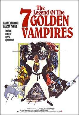 Legend of the 7 Golden Vampires - 11 x 17 Movie Poster - Style A