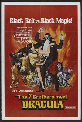 Legend of the 7 Golden Vampires - 27 x 40 Movie Poster - Style A