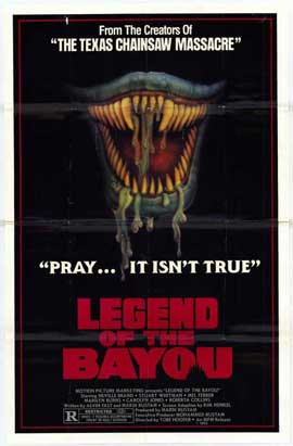 Legend of the Bayou - 27 x 40 Movie Poster - Style A