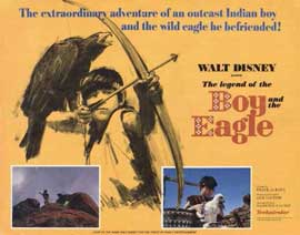 Legend of the Boy and the Eagle - 11 x 14 Movie Poster - Style A