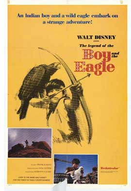 Legend of the Boy and the Eagle - 27 x 40 Movie Poster - Style A
