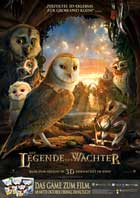 Legend of the Guardians: The Owls of Ga'Hoole - 11 x 17 Movie Poster - German Style B