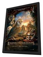 Legend of the Guardians: The Owls of Ga'Hoole - 11 x 17 Movie Poster - UK Style J - in Deluxe Wood Frame