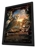 Legend of the Guardians: The Owls of Ga'Hoole - 27 x 40 Movie Poster - Style F - in Deluxe Wood Frame
