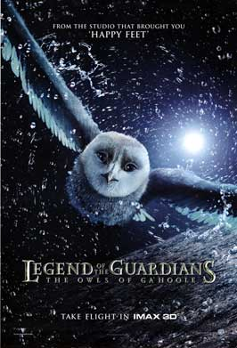 Legend of the Guardians: The Owls of Ga'Hoole - 43 x 62 Movie Poster - Bus Shelter Style A