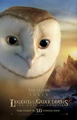 Legend of the Guardians: The Owls of Ga'Hoole - 11 x 17 Movie Poster - UK Style E