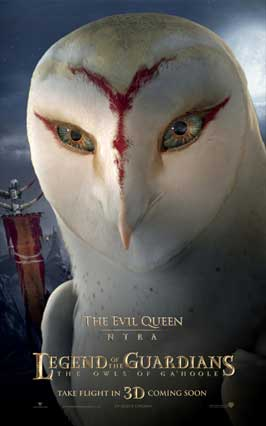 Legend of the Guardians: The Owls of Ga'Hoole - 11 x 17 Movie Poster - UK Style F